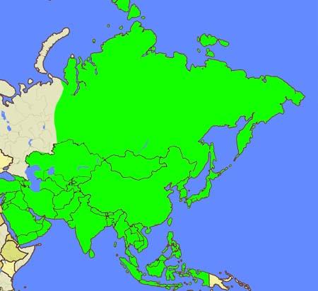 地図旅行 asia